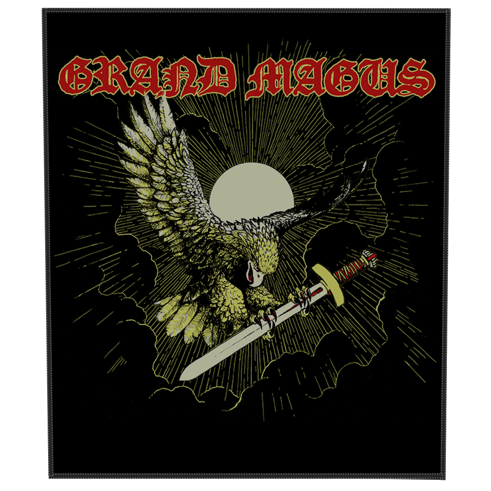 GRAND MAGUS 'Eagle' Backpatch