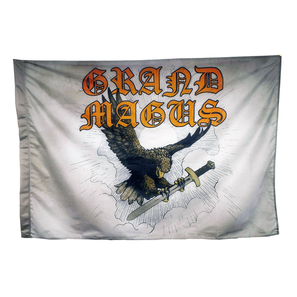 "GRAND MAGUS ""Sword Songs"" Flag"