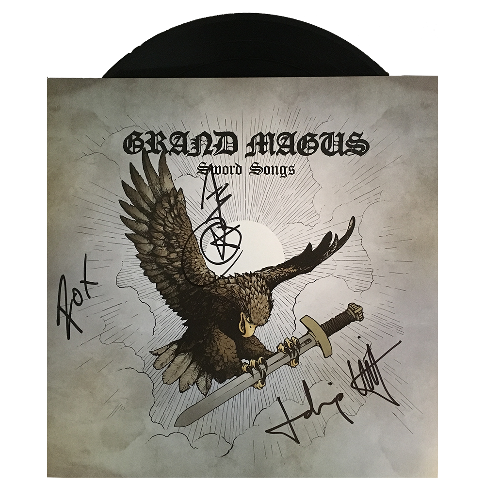 GRAND MAGUS 'Sword Songs' limited LP w/ Signature