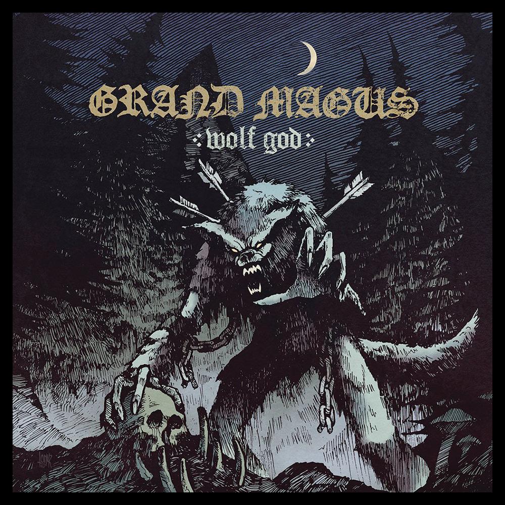 GRAND MAGUS 'Wolf God' CD