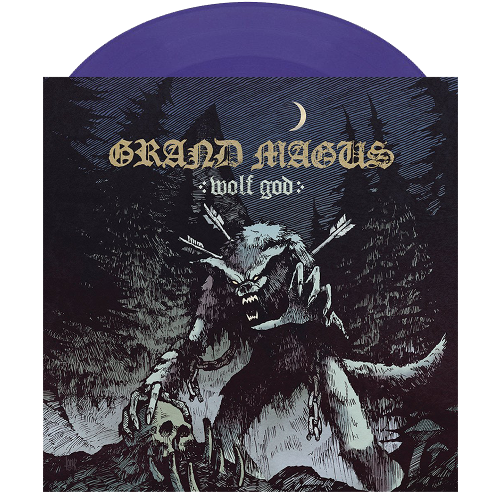 GRAND MAGUS 'Wolf God' lim. LP Lilac