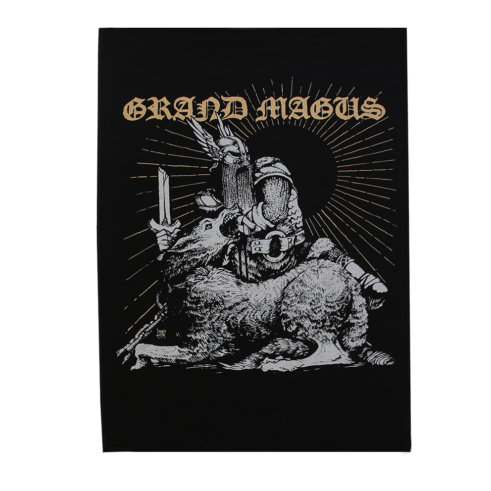 GRAND MAGUS 'Tyr' Backpatch