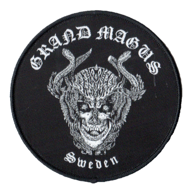 GRAND MAGUS 'Deathhead' Patch