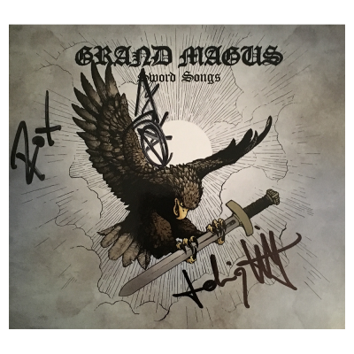 GRAND MAGUS 'Sword Songs' limited DigiPak w/ Signature