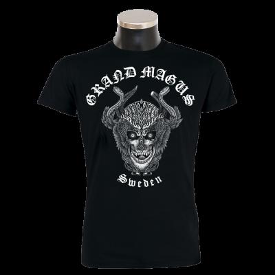 """GRAND MAGUS """"Deathhead"""" T-Shirt"""