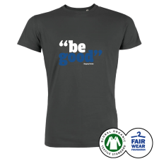 GREGORY PORTER 'Be Good' T-Shirt Anthracite
