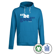 GREGORY PORTER 'Be Good' Hoodie Azur