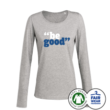 GREGORY PORTER 'Be Good' Girlie Longsleeve Grey