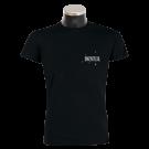 MONTREAL 'Faultier' T-Shirt schwarz