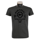 MONTREAL 'College' T-Shirt darkheather