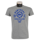 MONTREAL 'College' T-Shirt heathergrey
