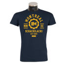 MONTREAL 'College' T-Shirt navy