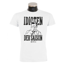 MONTREAL 'Idioten' T-Shirt weiss