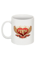"PORNO ""Logo"" Kaffeebecher"