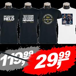 REVOLVERHELD 'Tour-Bundle' T-Shirts