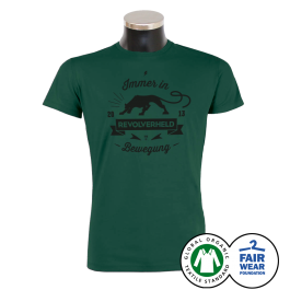 REVOLVERHELD 'Panther' T-Shirt grün