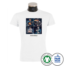 REVOLVERHELD 'Foto Unplugged' T-Shirt weiss