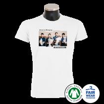REVOLVERHELD 'Foto' T-Shirt weiss