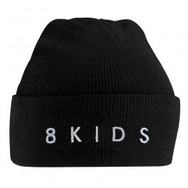 8KIDS 'Logo' Beanie black