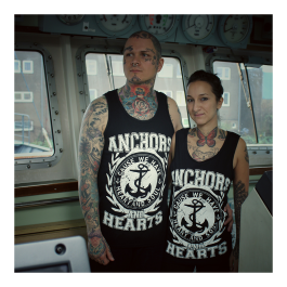 ANCHORS & HEARTS 'Anchors & Hearts' Tank