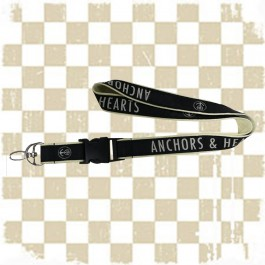 ANCHORS & HEARTS 'Across the Borders' Lanyard