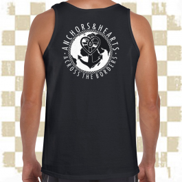 ANCHORS & HEARTS 'World-Logo' Tank Top