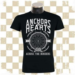 ANCHORS & HEARTS 'Across the Borders' T-Shirt