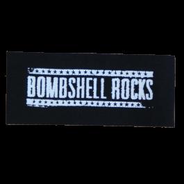 BOMBSHELL ROCKS 'Logo' Aufnäher