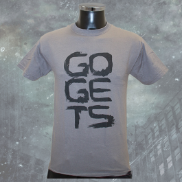 THE GOGETS 'Logo' T-Shirt grau