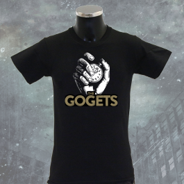 THE GOGETS 'Pocketwatch' T-Shirt schwarz