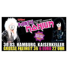 '30.03.2019 PartyMonium Hamburg' Ticket