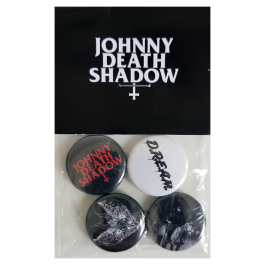 JOHNNY DEATHSHADOW 'D.R.E.A.M' Button-Set