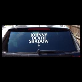 JOHNNY DEATHSHADOW 'Logo' Heckscheibenaufkleber