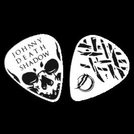 JOHNNY DEATHSHADOW 'Skull' Plektren-Set