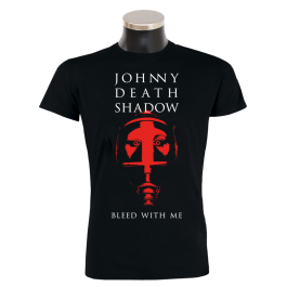 JOHNNY DEATHSHADOW 'Bleed With Me' T-Shirt