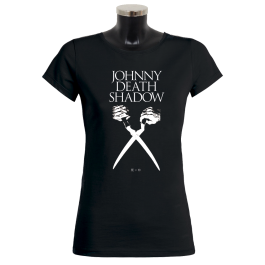 JOHNNY DEATHSHADOW 'Scissors' Girlie-Shirt