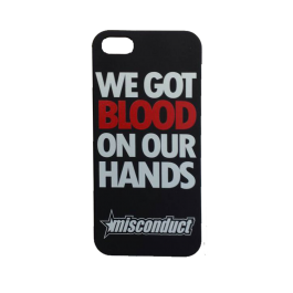 MISCONDUCT 'Blood On Your Hands' Handyhülle iPhone5