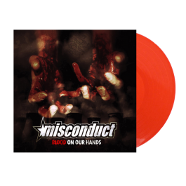 MISCONDUCT 'Blood On Your Hands' red Vinyl