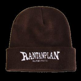 RANTANPLAN  'Logo' Beanie, braun