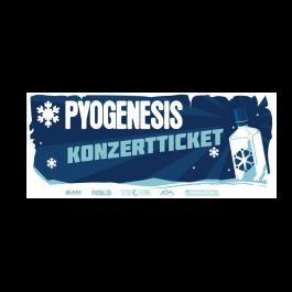 PYOGENESIS '08.03.2018 Weinheim' Ticket