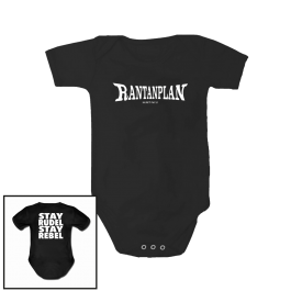 RANTANPLAN 'Stay Rudel Stay Rebel' Babybody