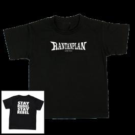 RANTANPLAN 'Stay Rudel Stay Rebel' Kindershirt