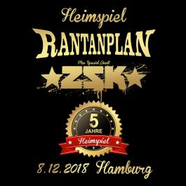 RANTANPLAN '08.12.2018' Hamburg Ticket - Special Guest: ZSK