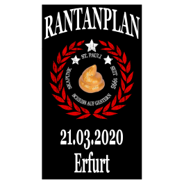 RANTANPLAN '25 Jahre Drauf Geschissen Tour' 21.03.2020 Erfurt