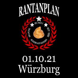 RANTANPLAN '25 Jahre Drauf Geschissen Tour' 01.10.2021 Würzburg