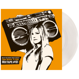 RANTANPLAN 'From Reggae to Punk - Mixtape #1' Clear Vinyl
