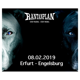 RANTANPLAN  - STAY RUDEL-STAY REBEL TOUR 08.02.2019' Erfurt Ticket