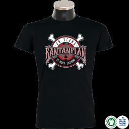 RANTANPLAN '25 Jahre' T-Shirt schwarz