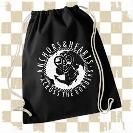ANCHORS & HEARTS 'World-Logo' Gymbag