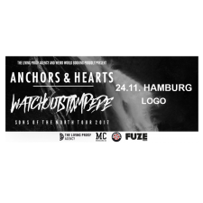 ANCHORS & HEARTS '24.11.2017' Hamburg Ticket